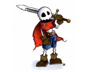 Skull Hero by UnusualHero