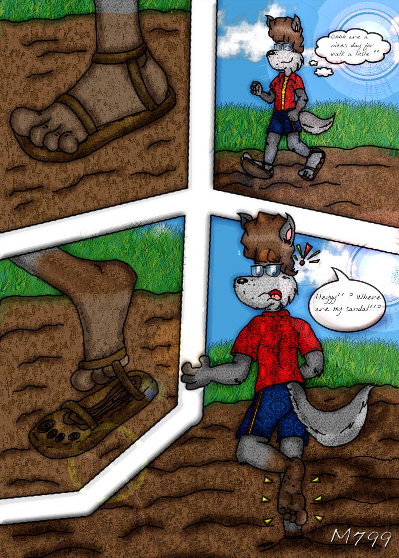 lol i lost my sandal by mamei799