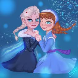 Olaf's frozen adventure by FatimaSketch