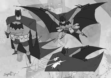 batman modelsheet by scoppetta