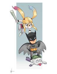 batman vs suicide squad by scoppetta