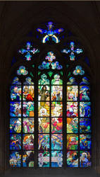 Stained Glass Window St Vitus by Bubba77