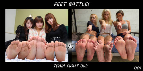 Feet Battle! - Team Fight #001 by Wilsondude
