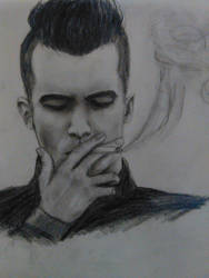 Brendon Urie ( i tried)  by nessakay99