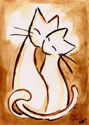 Sepia Kitty Special 1 by Dzinka