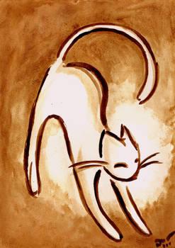 Sepia Kitty Special 3 by Dzinka