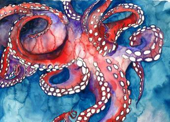 Octopus II by lenischoen