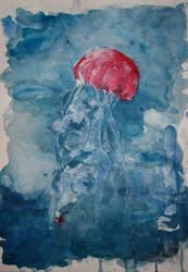 Jellyfish IV by lenischoen