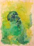 Green yellyfish by lenischoen