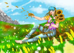 Sunflowers by Star10