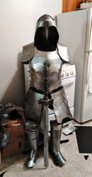 Suit of (paper) Armor by SabrePanther
