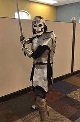 Skeleton Knight by SabrePanther