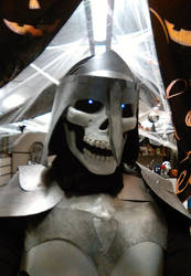 Skeleton Knight profile by SabrePanther