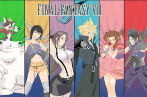 Final Fantasy VII Group Vector by Gimpy10145