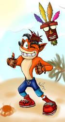 Its Ya Boi Crash! by shadowslilfoamy