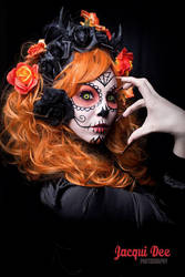 halloween sugar skull by Little-Miss-Twisted