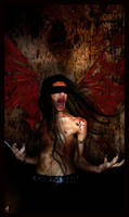 Fallen Angel of Hate by sergiofx
