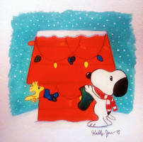Season's Greetings from Snoopy by Peachy1212