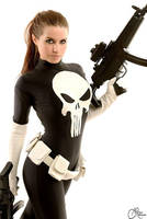 Punisher woman cosplay :) by joulii91