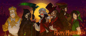 All Hallows '09 by PookaDoodle
