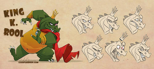 K Rool Kharacter Kommission by PookaDoodle