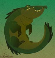 Crocodili by PookaDoodle