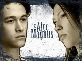 Alec and Magnus Wallpaper by ReachForTheStarfish