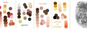 Color Palettes by Gweyeni