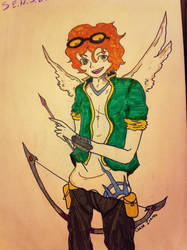 Chase Icarus Sketch by NikiMuffin