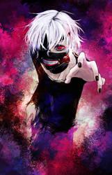 Kaneki Ken by DarkenedSakura
