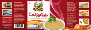 Packaging Caldo de Pollo by lKaos
