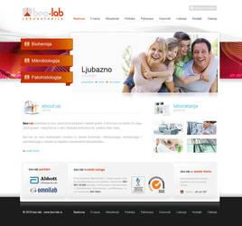 Laboratory Web Design by lKaos