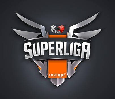 Logo Design Super Liga Orange by lKaos