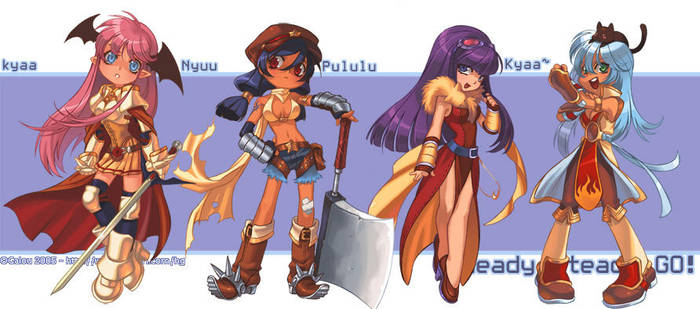 RO characters by galou