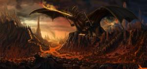Fire Dragon by Bamoon