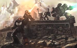 Warhammer40k by Bamoon