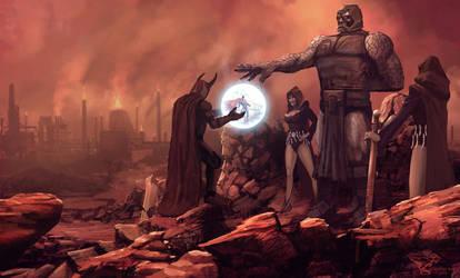 Darkseid by Bamoon