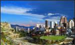 Panorama, La Paz by JorgeFerrufino