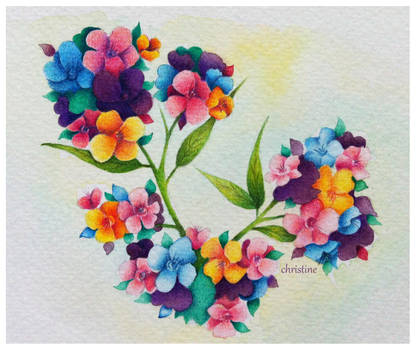 A tiny bit of spring(series) by ChristineDim