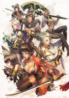 Blade and Soul contest submision by MonoriRogue