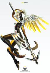 Overwatch - Mercy by MonoriRogue