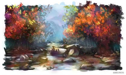 Scenery Practice by MonoriRogue