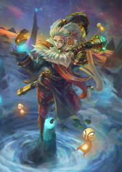 Bard - the Wandering Caretaker by MonoriRogue