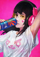 Casual D.VA by MonoriRogue
