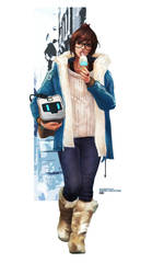 Mei - Winter Collection by MonoriRogue