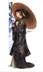 Hanzo - Fall Collection by MonoriRogue