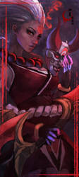 Bloodmoon Diana by MonoriRogue