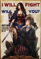 Wonder Woman by MonoriRogue