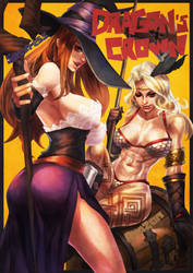 Dragons Crown by MonoriRogue