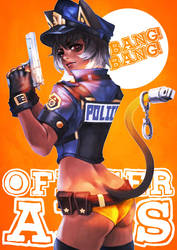 Officer Axis by MonoriRogue